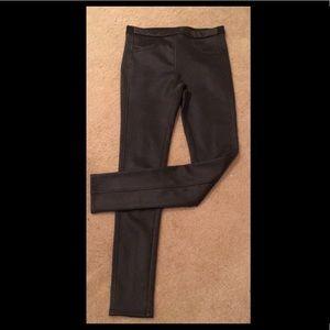 Vegan (faux) leather skinny pants/leggings